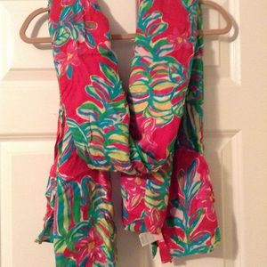 Lilly Pulitzer Large Blanket Scarf